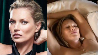 """Kate Moss leiloa vídeo dormindo de topless por R$ 89 mil: """"Quem vai querer ter um momento meu"""""""