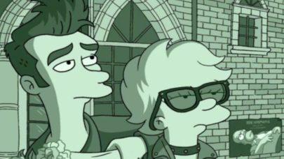 """Confira a paródia de """"Os Simpsons"""" que irritou o vocalista de uma famosa banda de rock"""