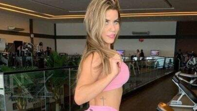 "De biquíni, Lorena Allveis posta foto e encanta seguidores: ""Uau"""