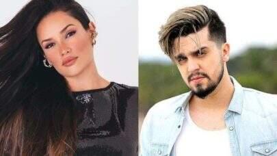 """Luan Santana convida Juliette para clipe da inédita """"Morena"""" ao vivo e agita a internet: """"Quer ser minha morena?"""""""