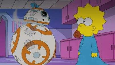 "Maggie Simpson em ""Star Wars""? Confira a homenagem de ""Os Simpsons"" ao 'May the 4th'"