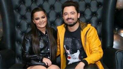 "Maiara canta ""Te amo demais"" com Fernando e casal deixa a web apaixonada"