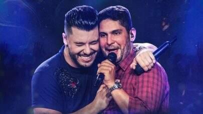 """Murilo Huff e Jorge, da dupla com Mateus, batem 25 milhões de visualizações em """"Uma Ex"""" e são capa de playlist da Deezer"""
