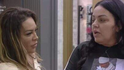"""Power Couple Brasil: Depois de fazer barraco, Márcia diz que Bibi é """"mais limitada"""" em provas"""