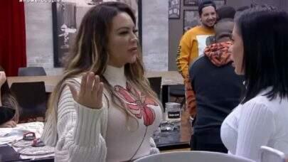 Power Couple Brasil: Márcia implica com MC Mirella e faz acusação sobre a participante