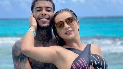 Deolane Bezerra, esposa de MC Kevin, manda recado para atriz pornô que afirmou que pegaria funkeiro