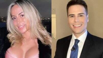 "Bianca Domingues, que acompanhou MC Kevin, alfineta Luiz Bacci: ""Procurei um jornalista sério"""