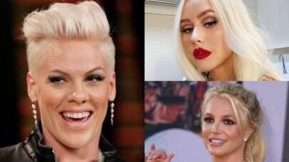 Pink abre o jogo sobre rivalidade com Britney Spears e Christina Aguilera