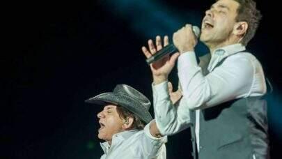 """Zezé di Camargo e Luciano dão parabéns para Chitãozinho e emocionam fãs: """"Que em breve a gente possa estar juntos cantando"""""""