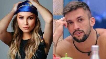 """Ex-BBB Arthur Picoli comenta sobre torcida para romance com Carla Diaz: """"Por que será?"""""""