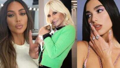 Dua Lipa, Kim Kardashian, Maluma e Elton John! Veja os famosos e comemoraram o aniversário de Donatella Versace