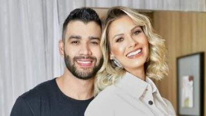 Gusttavo Lima e Andressa Suita interagem nas redes sociais e fãs apontam reconciliação