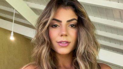"Hariany Almeida esbanja boa forma de biquíni e recebe elogios dos fãs: ""Linda"""