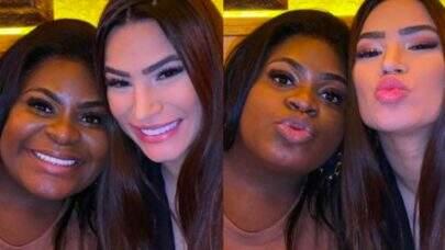 """Jojo Todynho e Raissa Barbosa são vistas juntas e web enlouquece: """"Amo essa amizade"""""""