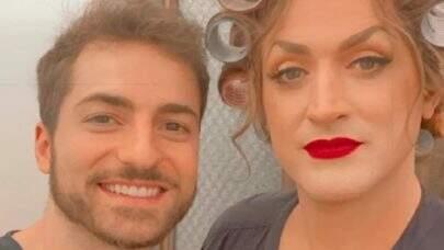 """Marido de Paulo Gustavo homenageia ator no Dia das Mães: """"Maiores mães da minha vida!"""""""