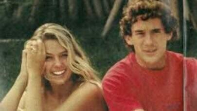 Adriane Galisteu faz homenagem para Aryton Senna: 'Não tem quem não lembre onde estava'