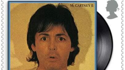 Paul McCartney estampa nova série de Selos Reais britânicos