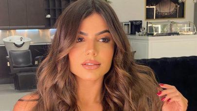"""Ex-BBB Hariany Almeida posa com vestidinho mínimo e Aline Riscado dispara: """"Que linda!"""""""