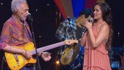 Gilberto Gil e Juliette Freire se emocionaram juntos durante live junina; confira os melhores momentos