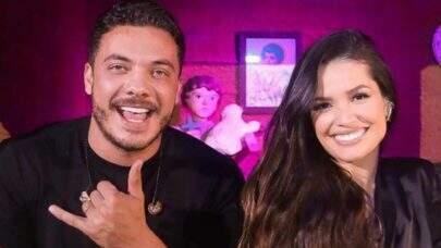 """Wesley Safadão celebra encontro com Juliette Freire em live junina: """"Tô extremamente feliz"""""""