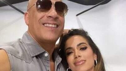 Vin Diesel revela se gostou ou não da música de Anitta para a trilha sonora de 'Velozes e Furiosos 9'