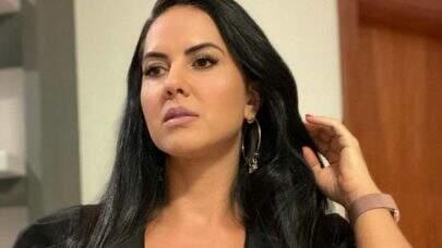 "Graciele Lacerda ostenta beleza natural com look diferenciado: ""Dona da beleza"""
