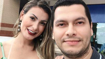 "Andressa Urach faz comentário inusitado sobre marido e viraliza: ""Piscineiro gostoso"""