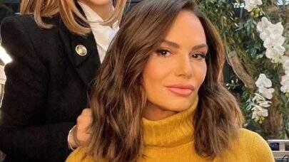 """Luiza Brunet rebate crítica sobre ter """"perdido a identidade"""" em aparência: """"Já pedi outra"""""""