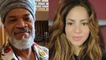Carlinhos Brown relembra performance musical especial ao lado de Shakira e fãs vão à loucura