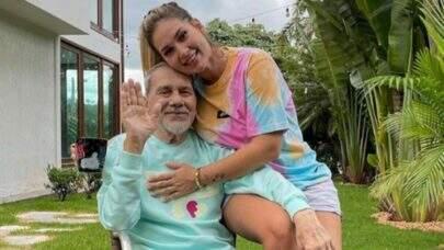 """Pai de Virginia Fonseca morre aos 72 anos: """"Eu vou te amar pra sempre"""""""
