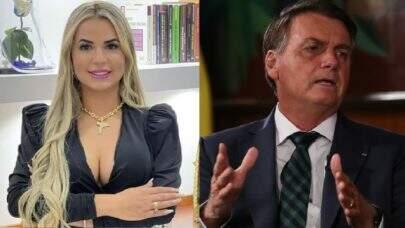 """Viúva de MC Kevin viraliza na web após citar Bolsonaro: """"Só ganhou por causa da facada"""""""