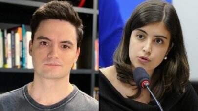 """Tabata Amaral e Felipe Neto trocam farpas nas redes sociais: """"Mansplaining que fala"""""""