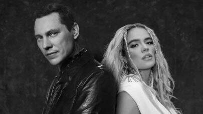 """Inspirado na franquia de filmes 'Uma Noite No Museu', Tiësto e Karol G lançam clipe divertido de """"Don't Be Shy"""""""