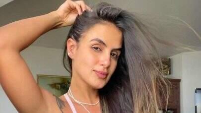 """Ex-BBB Carol Peixinho posa de biquíni nas Maldivas: """"Mais um dia memorável"""""""