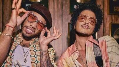 Em entrevista, Bruno Mars e Anderson .Paak comentam detalhes e novidades do projeto musical Silk Sonic