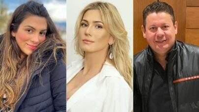 Lívia Andrade comparece rodeada de seguranças em exame de DNA de Pétala Barreiros e é criticada na web