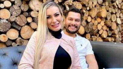 """Grávida, Andressa Urach anuncia término de casamento com Thiago Lopes: """"Não me façam perguntas"""""""