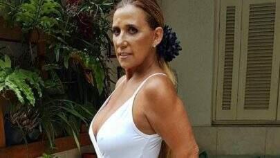 """6 vezes que Rita Cadillac posou em cliques sensuais e gerou repercussão: """"Eterna musa!"""""""