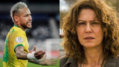 "Neymar dá nova resposta à Patrícia Pillar após troca de farpas e gera tumulto: ""Olha lá"""