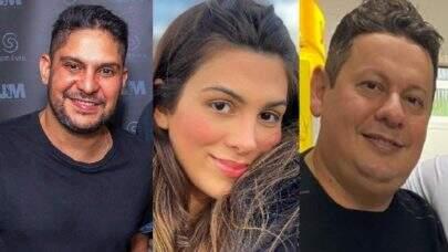 """Jorge, da dupla com Mateus, teria repreendido Marcos Araújo por relacionamento com Pétala: """"O único!"""""""