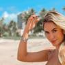 """Ex-BBB Sarah Andrade aproveita dia de sol para renovar bronzeado: """"Apaixonada por essa terra"""""""