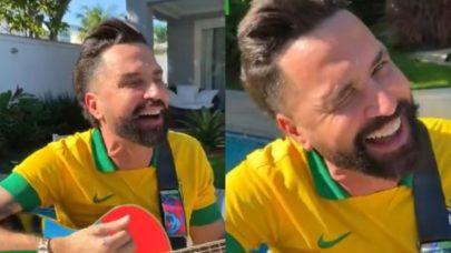 """Latino faz paródia e convoca fãs para manifestações pró-Bolsonaro: """"Dia 7 nos espera"""""""