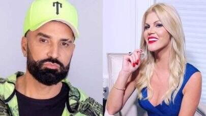 """Negando proposta de namoro de fachada, Latino ameaça processar Val Marchiori: """"Nunca aconteceu"""""""