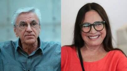 """Regina Duarte recebe críticas por homenagem a Caetano Velosos e justifica: """"Sou plural"""""""