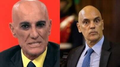 Amin Khader pede para não ser confundido com Alexandre de Moraes e web reage