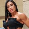 """Gracyanne Barbosa impressiona ao exibir shape sarado em look do dia: """"Apaixonada"""""""