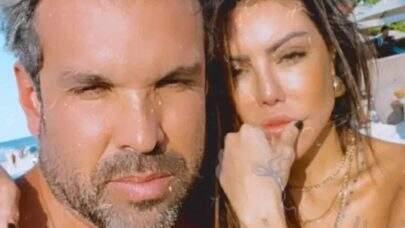 """Liziane Gutierrez assume romance com Daniel Cotrim, mas empresário nega: """"Sigo solteiro"""""""