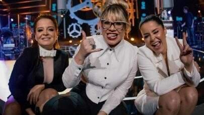 Marília Mendonça e Maiara e Maraisa se emocionam ao conhecerem cantora revelação do piseiro