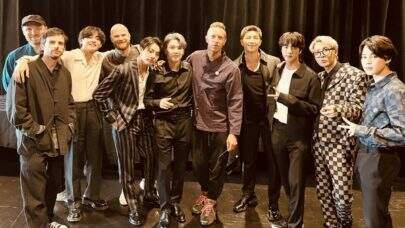 Após parceria musical com Coldplay, BTS faz história na Billboard Hot 100; saiba detalhes