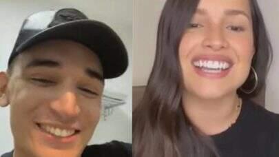 Juliette e João Gomes cantam juntos durante live, trocam elogios e fãs vão à loucura